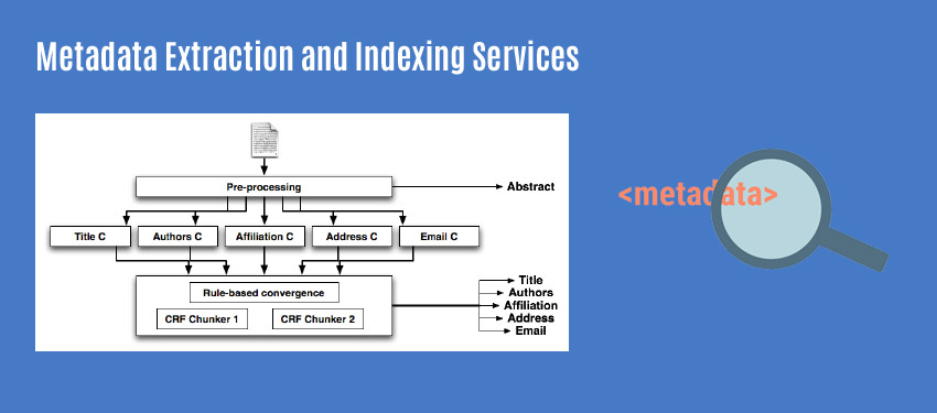 Metadata Extraction and Indexing Services